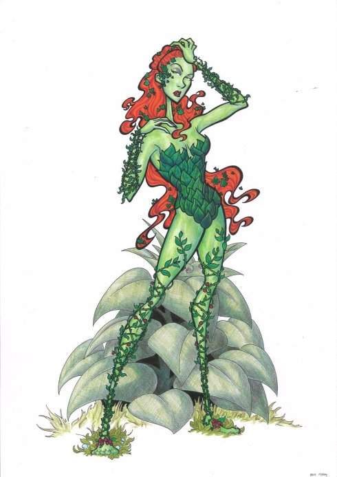 Poison_Ivy_Character_Study_by_BevisMusson